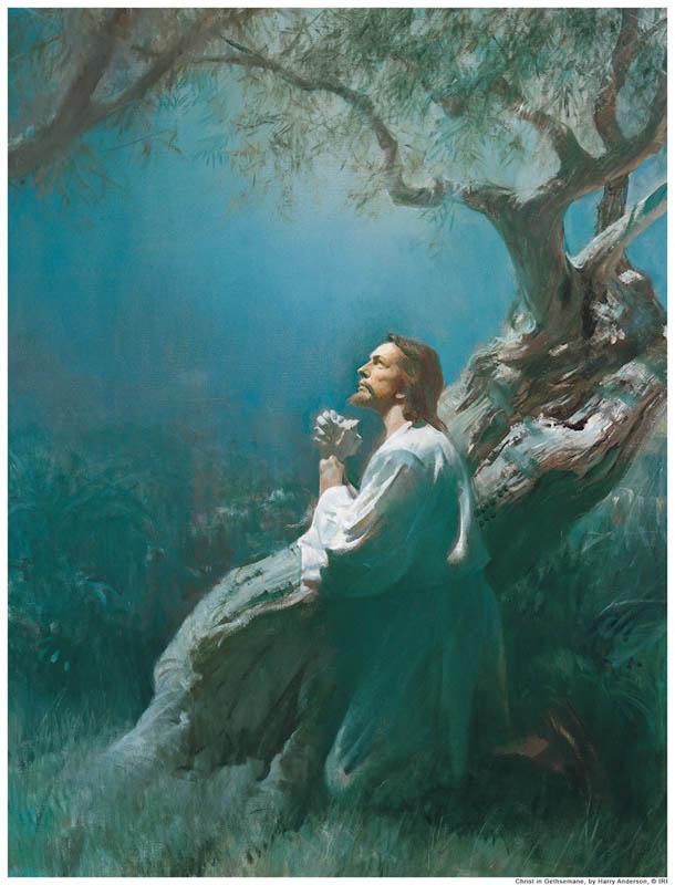 Gesù-Pregando