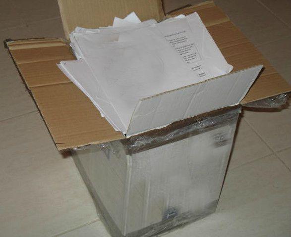 scatola di carta