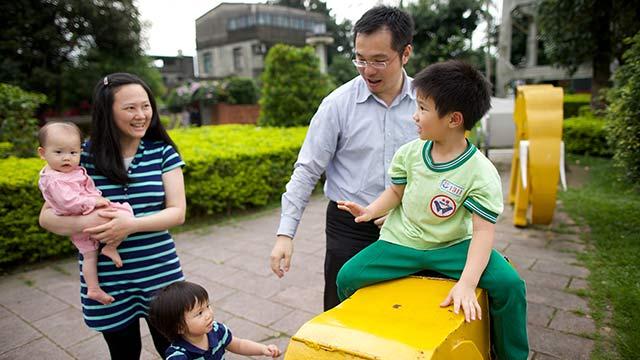 Il lavoro perfetto per diventare migliori: essere genitori