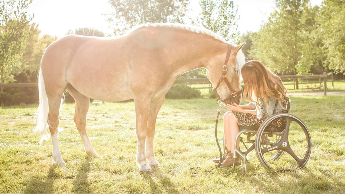 paraplegico e il suo cavallo