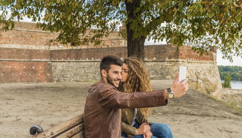 selfie di coppia
