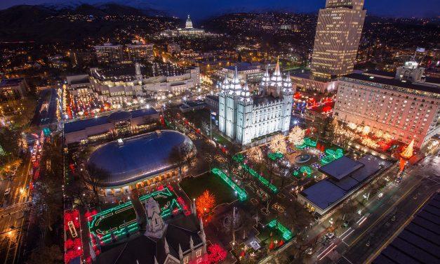 Visitate la Piazza del Tempio Mormone in Salt Lake City