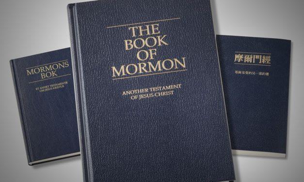 Conferenza Mormone: Il Libro di Mormon