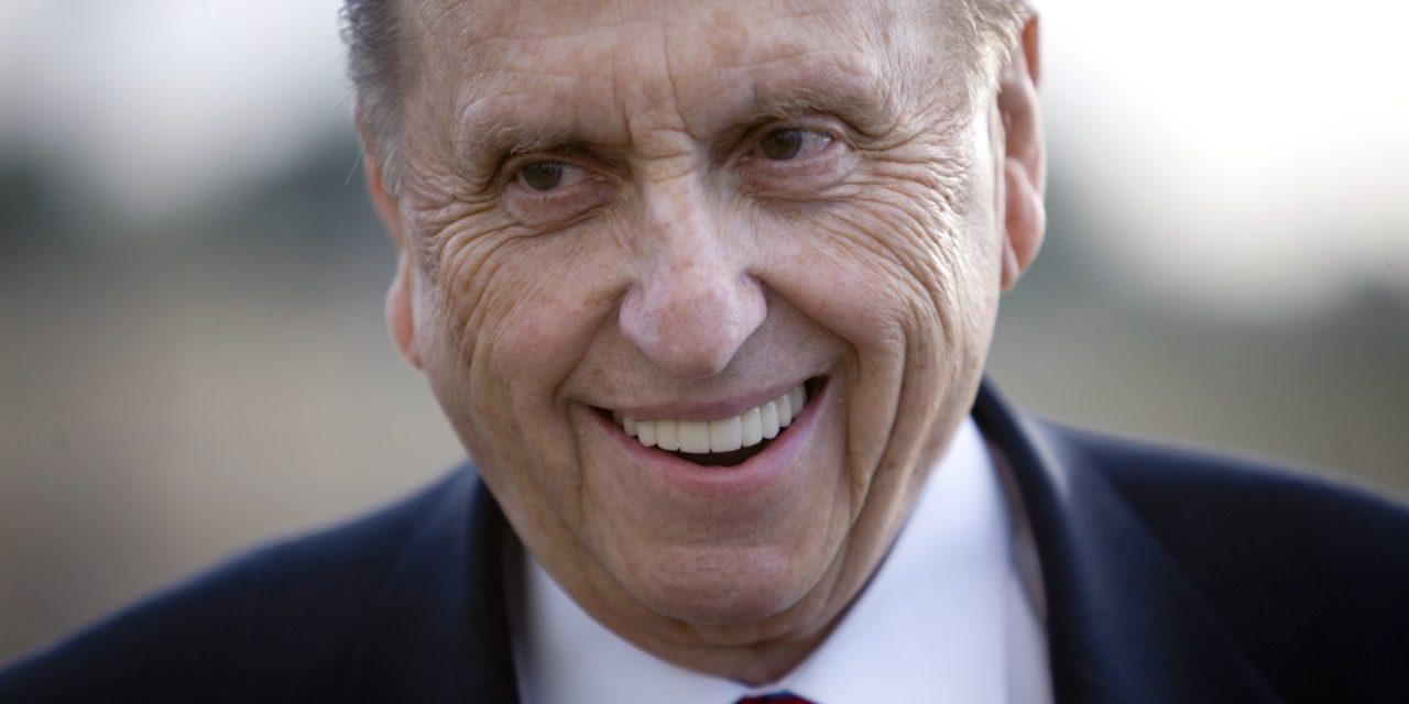 Le 10 persone più ammirate: il profeta mormone Thomas Monson