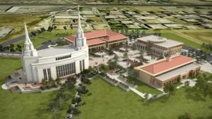 Il processo di costruzione dei templi mormoni