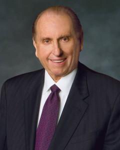 """Il profeta mormone Thomas S. Monson: """"Seguire sempre lo Spirito"""""""
